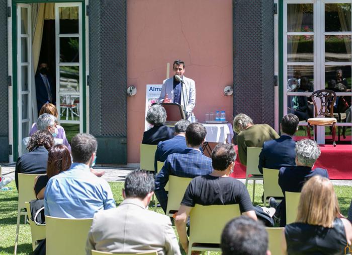 El presidente de la Diputación define el Festival de Almagro como un referente cultural, de calidad y cercano
