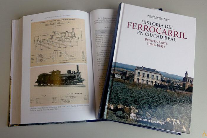 """La residencia Santo Tomás de Villanueva acoge la presentación de """"Historia del Ferrocarril en Ciudad Real"""""""