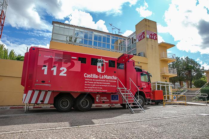 El Servicio de Emergencias 1-1-2 recibió más de 193.100 llamadas desde la provincia de Ciudad Real durante el pasado año