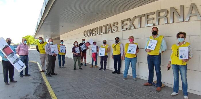 Acto reivindicativo de Amnistía Internacional en Valdepeñas