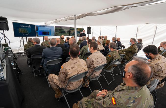 El Ejército de Tierra evalúa las radios vehiculares SDR TGOR-V de Tecnobit – Grupo Oesía