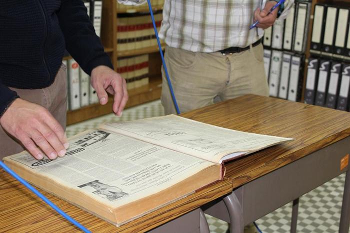 El centro de estudios de Castilla-La Mancha digitalizará el semanario Canfali/Jaraíz, que actualmente está depositado en la biblioteca de la UNED de Ciudad Real