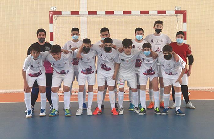 Los equipos de la cantera Vivela Quijote Futsal siguen con su competición este sábado
