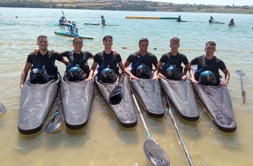 E l equipo Sub-21 Kayak Polo Valdepeñas ha participado en el segundo torneo de la Sub-21 en Arcos de la Frontera