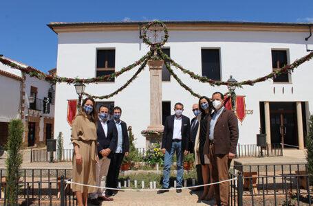 Inauguración Cruz del Pueblo de Villanueva de los Infantes