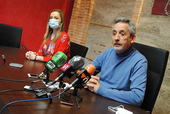 """Jesús Martín: """"Vamos a poner 1.500.000 euros en activo en el pequeño y mediano comercio en los últimos seis meses"""""""