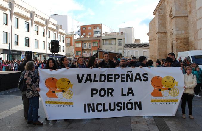 Valdepeñas insiste en velar por la protección efectiva de los derechos de las personas con discapacidad