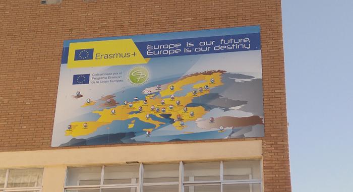 El IES Gregorio Prieto ha conseguido la Acreditación Erasmus para el sector de Educación Escolar en la convocatoria 2020