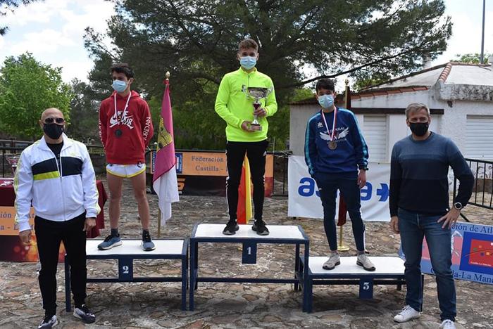 Javier Hernández, Sistemas Valdecom-Valdepeñas Athletics Club, campeón regional de Trail