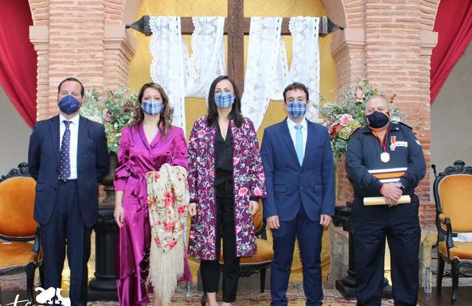 Gonzalo Fernández de Sevilla pregona la Fiesta de Cruces y Mayos de Infantes
