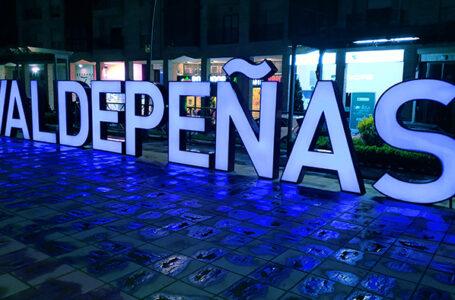 Valdepeñas Azúl con motivo del Día de Europa