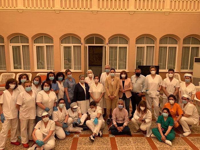 La Delegada Provincial de Bienestar Social visita Villanueva de los Infantes