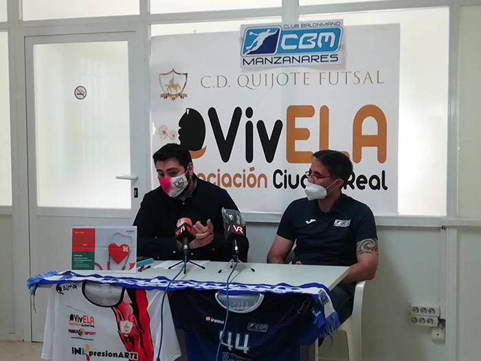 C.D VivELA Quijote Futsal firma un convenio con el C.D Balonmano Manzanares