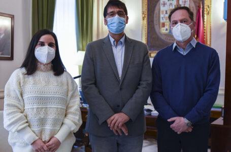 El presidente de la Diputación de Ciudad Real ha mantenido una reunión con el alcalde de Chillón, Jerónimo Mansilla