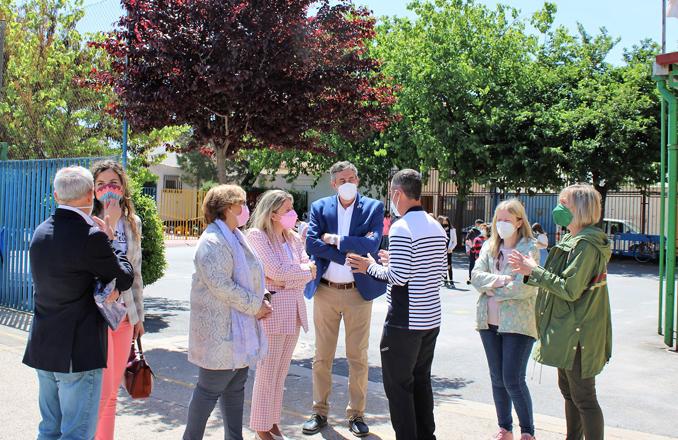 El Gobierno de Castilla-La Mancha reformará nueve centros de Primaria y Secundaria de Tomelloso con una inversión de 1,1 millones de euros
