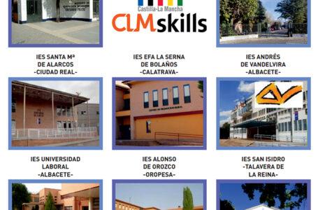 Los centros educativos participantes en el clm skills 2021