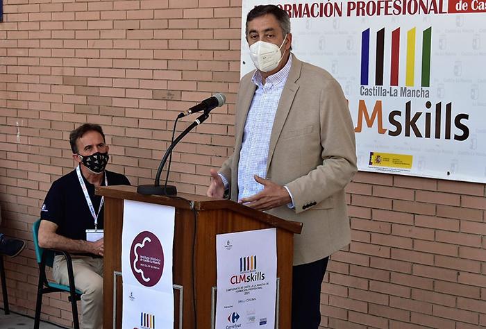 José Caro subraya que el impulso de la Formación Profesional es un eje estratégico en la política educativa del Gobierno de Castilla-La Mancha