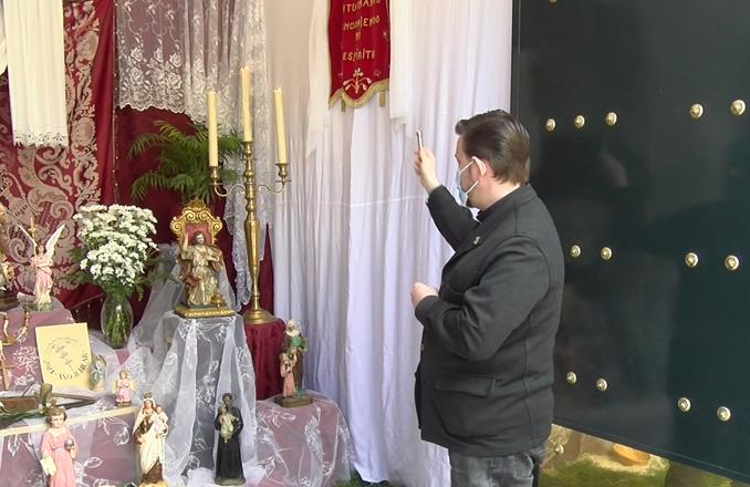 Bendecida la Cruz de Mayo de la Hermandad Misericordia y Palma
