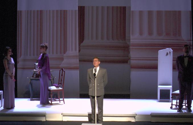 El Auditorio Municipal Fco. Nieva acogió  'Un marido ideal'