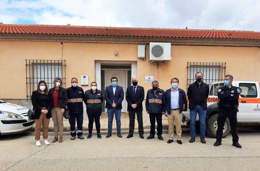 El Gobierno de CLM dota de material de primeros auxilios a la Agrupación de Voluntarios de Protección Civil de Villahermosa