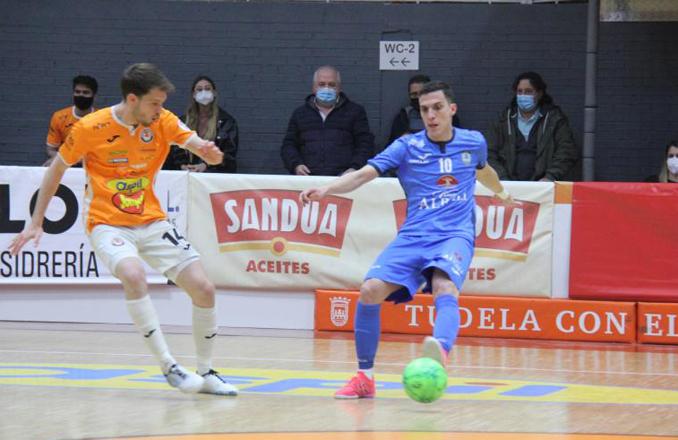 6-3| El Viña Albali Valdepeñas no pudo puntuar en Tudela