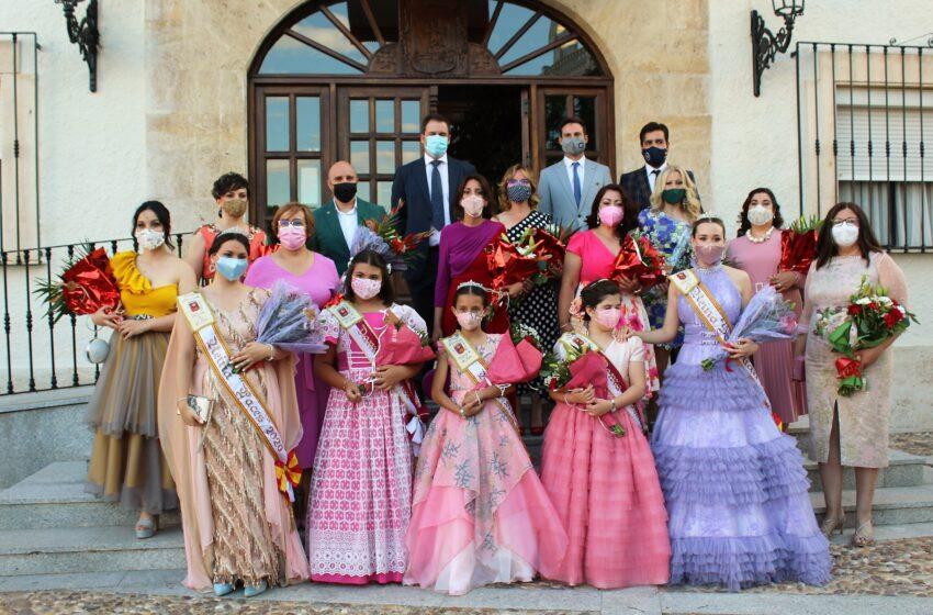 Carmen Olmedo asiste a las fiestas patronales de Villarta de San Juan