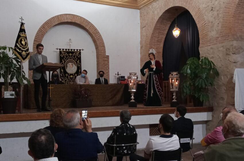 Pregón a la Juventud Cofrade de la Hermandad de la Soledad en el Auditorio Inés Ibáñez de Valdepeñas