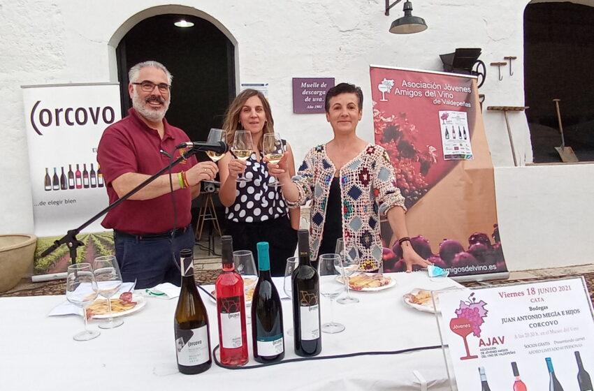 La Asociación Jóvenes Amigos del Vino de Valdepeñas organiza una cata de Bodegas  Corcovo