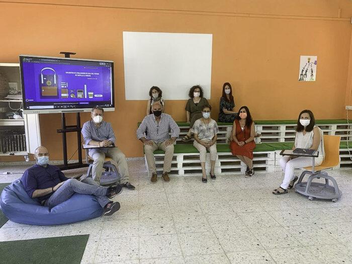 Encuentro en el IES Gregorio Prieto de Valdepeñas