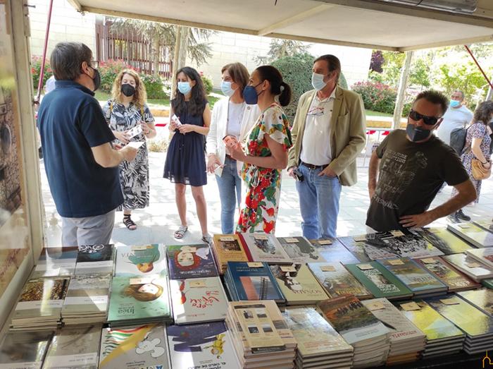 La BAM presenta sus últimas novedades en la Feria del Libro de Ciudad Real