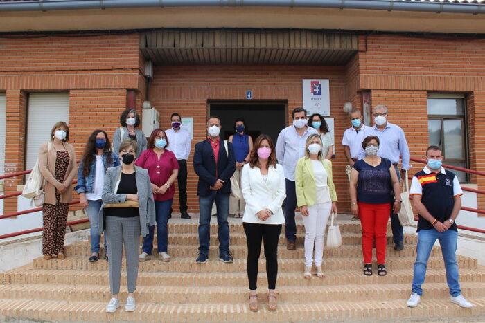 La consejera de Igualdad y portavoz ha visitado las nuevas instalaciones del Centro de la Mujer de Horcajo de los Montes
