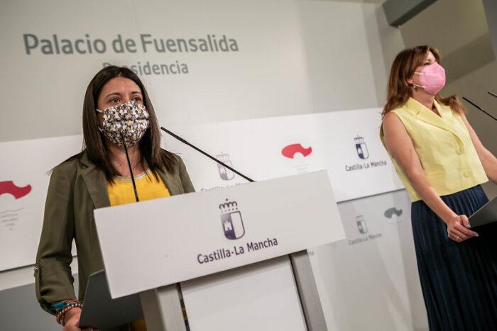 Bárbara García Torijano y Blanca Fernández
