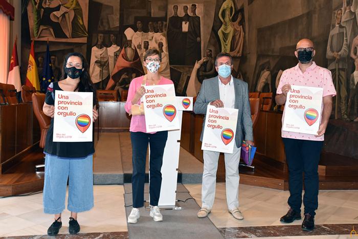 La Diputación apoya el primer Orgullo provincial con una batería de acciones de visibilización y sensibilización