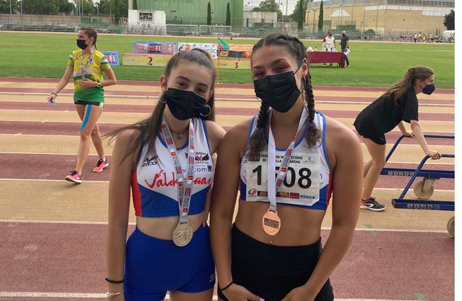 11 Medallas para los atletas del Valdepeñas A.C. Sistemas Valcom en el Campeonato de CLM
