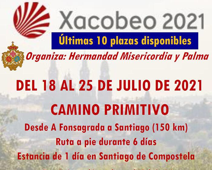 Últimas plazas para el Camino de Santiago «Xacobeo 2021»