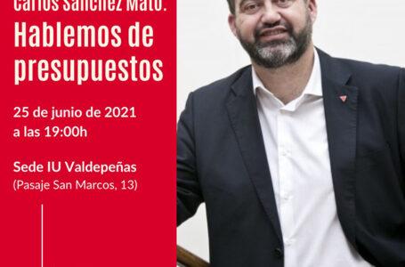 Carlos Sánchez 'Hablemos de presupuestos'