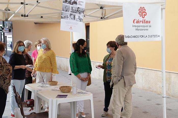 """Cáritas pide a Manzanares que """"seamos más pueblo"""" en su Día de Caridad 2021"""