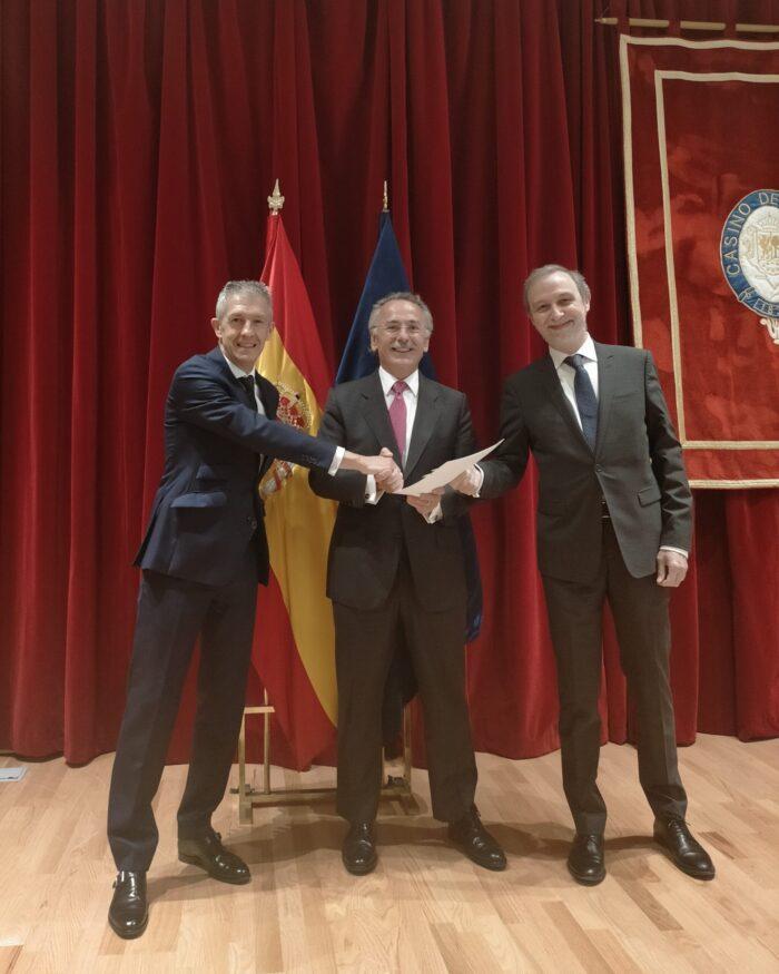 Consorcio SATNUS formado por Tecnobit-Grupo Oesía, SENER Aeroespacial y GMV