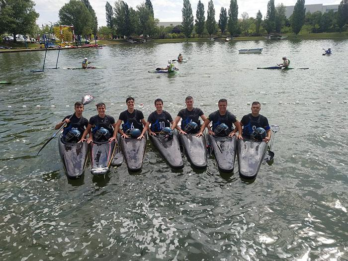 Nueva jornada para el Club Kayak Polo de Valdepeñas Sub-21