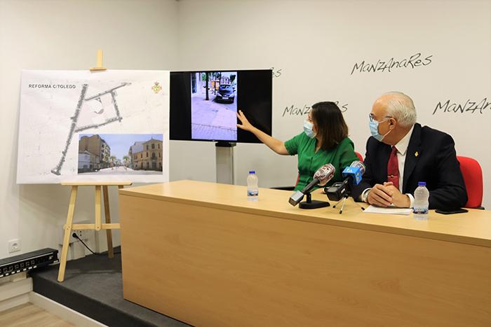La próxima semana comenzará la reforma del entorno del Gran Teatro y de la calle Toledo