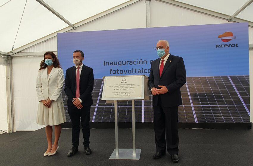 Inauguración del complejo fotovoltaico de Repsol 'Kappa' en Manzanares