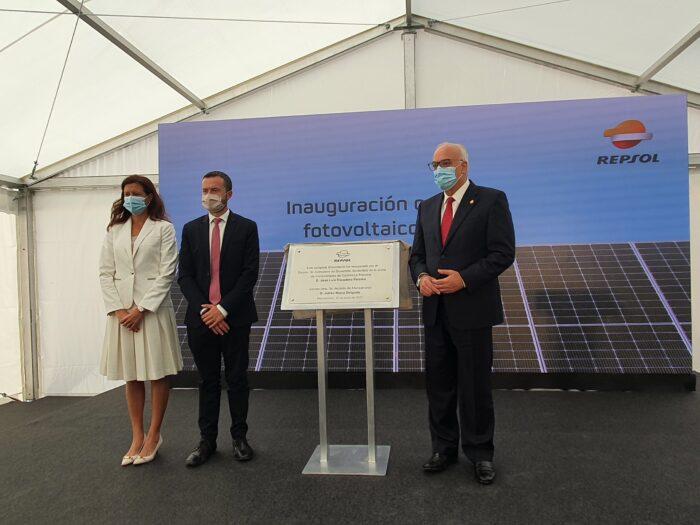 Inauguración del complejo fotovoltaico de Repsol 'Kappa'