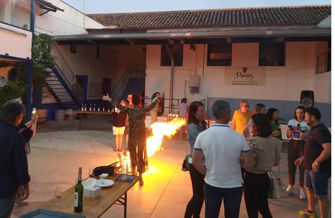 El ritual del Fuego y una cata de vinos para celebrar el Solsticio de Verano en La Bodega de las Estrellas