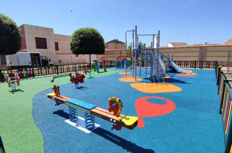 Nuevos parques infantiles en Viso del Marqués