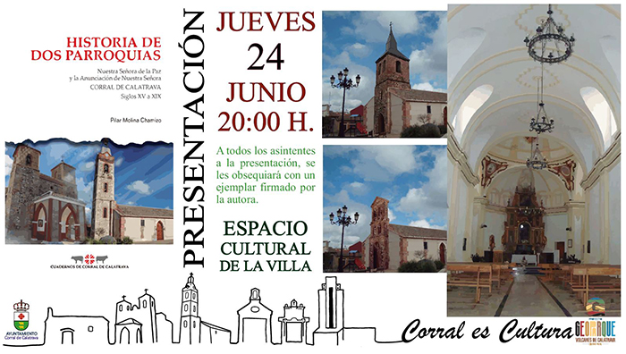 El espacio cultural de la Villa acogerá  la presentación del  Primer Cuaderno de Historia de Corral de Calatrava