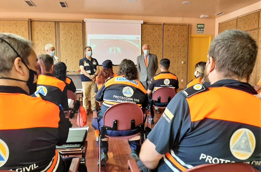 Una veintena de voluntarios de Protección Civil participan en un curso de apoyo logístico programado por el Gobierno de Castilla-La Mancha