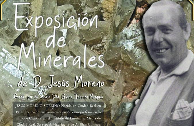 La Asociación Viseña de Amigos de la Naturaleza (AVAN) inaugura el próximo viernes una exposición de minerales en el museo de ciencias naturales de Viso del Marqués