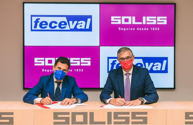 Los empresarios de Valdepeñas, Campo de Montiel y La Solana estarán más seguros gracias a la alianza entre Soliss y FECEVAL
