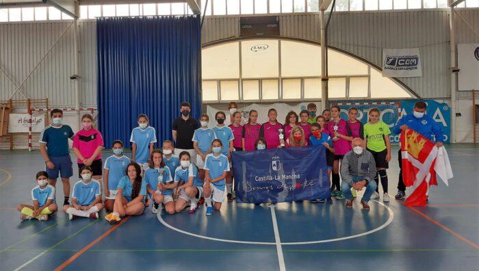 Final del Campeonato en Edad Escolar de Futbol Sala femenino infantil