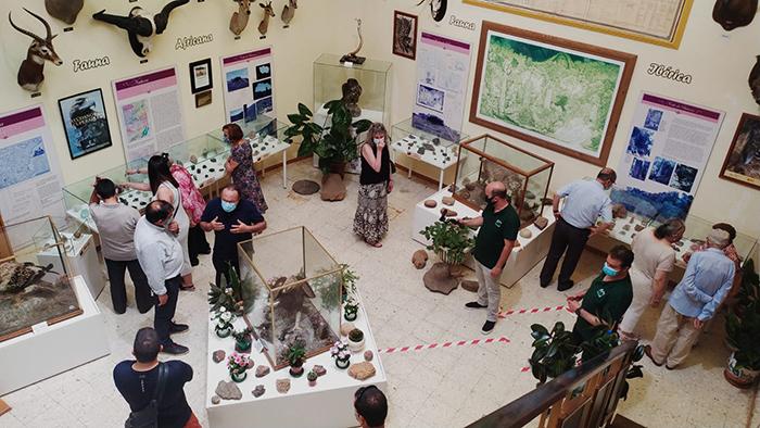 El Museo AVAN de Viso del Marqués acoge desde hoy 200 minerales más, donados por la familia del farmacéutico y coleccionista Jesús Moreno Sobrino
